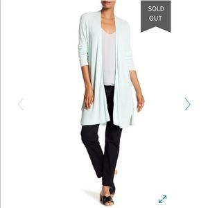 Eileen Fisher simple cardigan NWT sz M